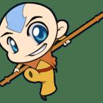 Avatar A Lenda Aang PNG 11