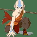 Avatar A Lenda Aang PNG 17