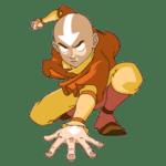 Avatar A Lenda Aang PNG 18