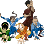 Avatar A Lenda Aang PNG 23