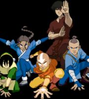Avatar A Lenda Aang Katara Zuko