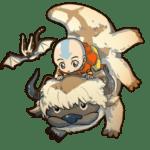 Avatar A Lenda Aang PNG 24
