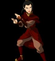 Avatar A Lenda Aang - Princesa Azula PNG