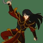 Avatar A Lenda Aang – Princesa Azula PNG 05