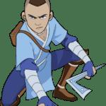 Avatar A Lenda Aang – Sokka PNG 01