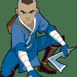 Avatar A Lenda Aang – Sokka PNG 02