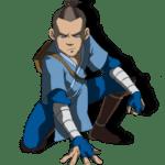 Avatar A Lenda Aang – Sokka PNG 03