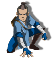 Avatar A Lenda Aang - Sokka PNG