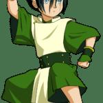Avatar A Lenda Aang – Toph Beifong PNG 01