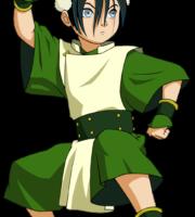 Avatar A Lenda Aang - Toph Beifong PNG