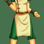 Avatar A Lenda Aang – Toph Beifong PNG 02