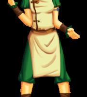Avatar A Lenda Aang - Toph Beifong PNG 01