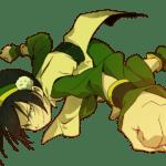 Avatar A Lenda Aang – Toph Beifong PNG 03