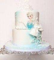 Bolo de Aniversário Personalizado da Frozen
