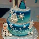 Bolo de Aniversário da Frozen