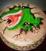 Imagens de Bolo Decorado Infantil Dinossauro