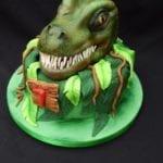 Bolo de Aniversário Infantil Dinossauro