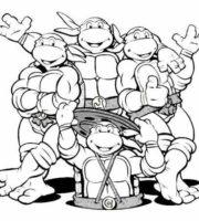 Arquivos Das Tartarugas Ninja Para Imprimir