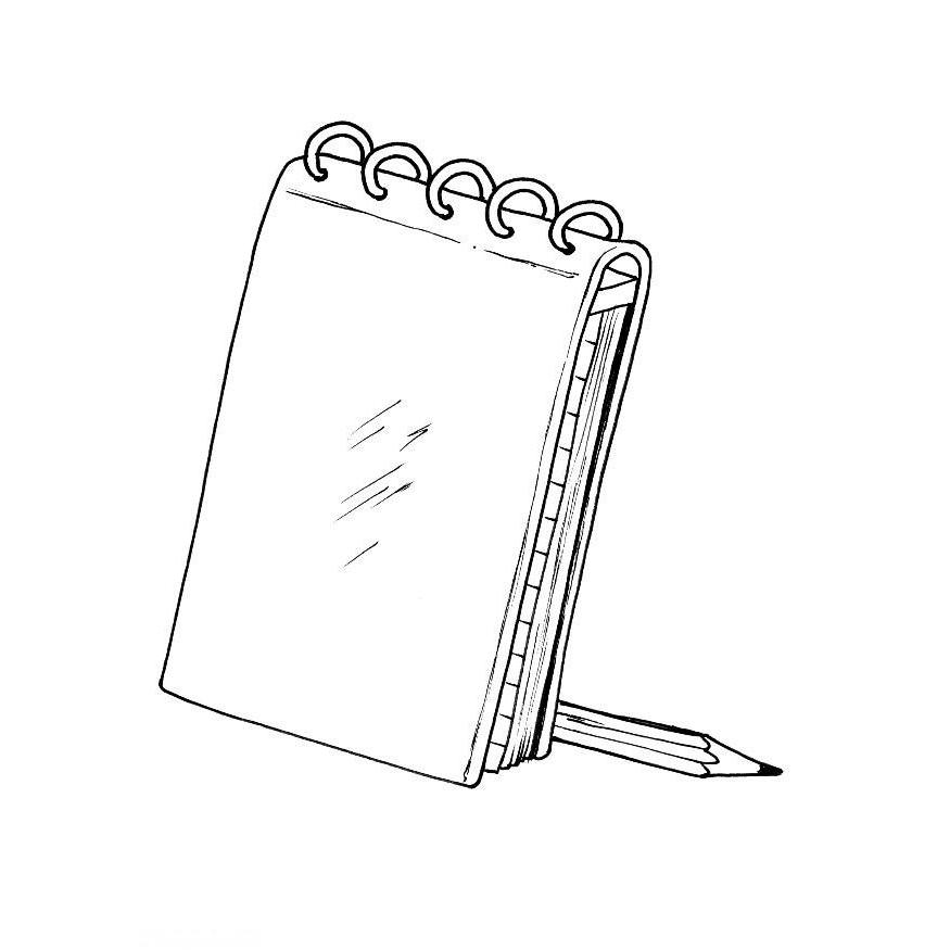 Desenhos De Material Escolar Para Colorir E Imprimir