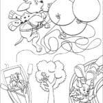 Páginas do 101 Dálmatas para colorir e imprimir