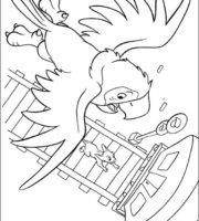 Desenhos do 102 Dálmatas para colorir e imprimir