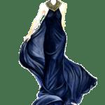 Ilustração de Mulheres Meninas Garotas Fashion PNG 06