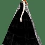 Ilustração de Mulheres Meninas Garotas Fashion PNG 08