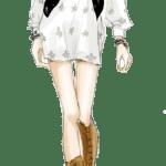 Ilustração de Mulheres Meninas Garotas Fashion PNG 21