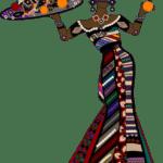 Ilustração de Mulheres Meninas Garotas Fashion PNG 22