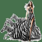 Ilustração de Mulheres Meninas Garotas Fashion PNG 24
