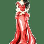 Ilustração de Mulheres Meninas Garotas Fashion PNG 27