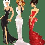 Ilustração de Mulheres Meninas Garotas Fashion PNG 29