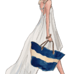 Ilustração de Mulheres Meninas Garotas Fashion PNG 32