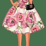 Ilustração de Mulheres Meninas Garotas Fashion PNG 35