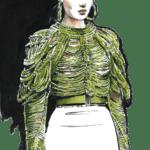 Ilustração de Mulheres Meninas Garotas Fashion PNG 45