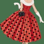 Ilustração de Mulheres Meninas Garotas Fashion PNG 48