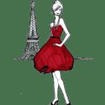 Ilustração de Mulheres Meninas Garotas Fashion PNG 52