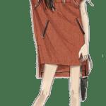 Ilustração de Mulheres Meninas Garotas Fashion PNG 53