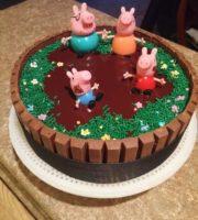 Imagens de Bolo Decorado da Peppa Pig