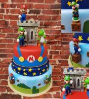 Imagens de Bolo decorado do Super Mário