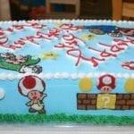 Bolo de Aniversário do Super Mário