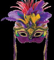 Máscara de Carnaval PNG