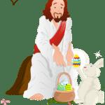 Páscoa – Imagens de Jesus PNG 01