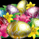 Páscoa – Ovos de Páscoa PNG 01