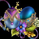 Páscoa – Ovos de Páscoa PNG 05