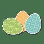 Páscoa – Ovos de Páscoa PNG 10