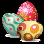 Páscoa – Ovos de Páscoa PNG 32