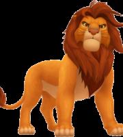 Rei Leão - Mufasa PNG