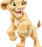 Rei Leão - Nala PNG