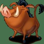 Rei Leão – Pumba PNG 04